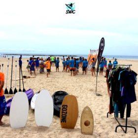 Surfing World Cubelles - skimboard GoZone - tiedna online