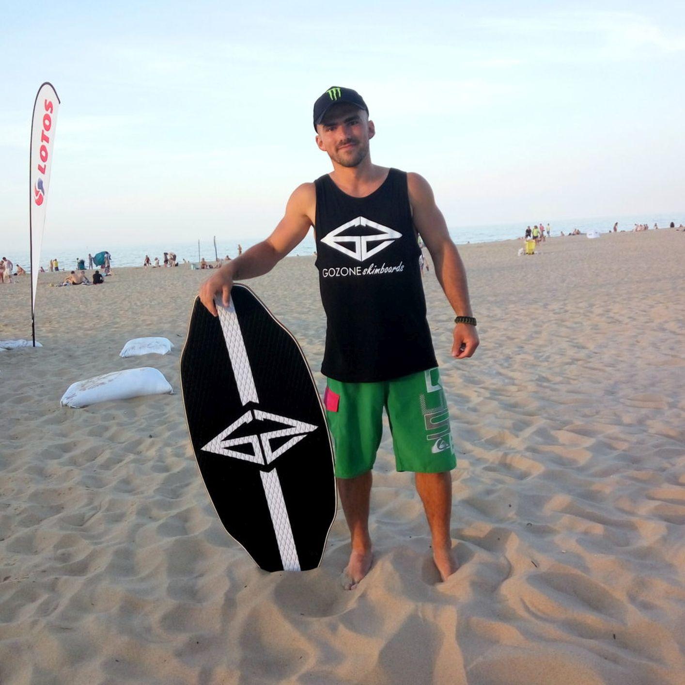 Samoil Digalovski - Rider GoZone skimboards - Świnoujście