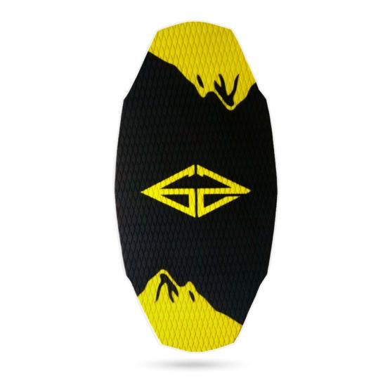 k2-czarna-żółta-skim-nowa-deska-skimboardowa-góry-gozone-shop-shipping-rocker